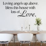 Loving Angels Up Above ~ Wall sticker / decals